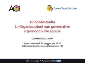#OngATestaAlta – Le Organizzazioni non governative rispondono alle accuse