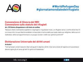 #WorldRefugeeDay #giornatamondialedelrifugiato