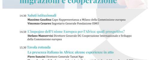 Europa e Africa: migrazioni e cooperazione