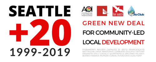 EVENTO: Seattle+20. Green New Deal and/for 
