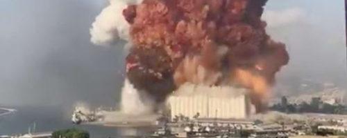 Strage a Beirut: l'Italia attivi subito i programmi di emergenza umanitaria